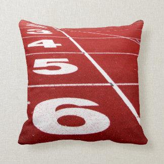 Pista corriente almohadas