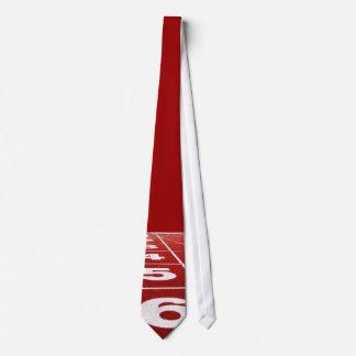 Pista corriente corbatas personalizadas