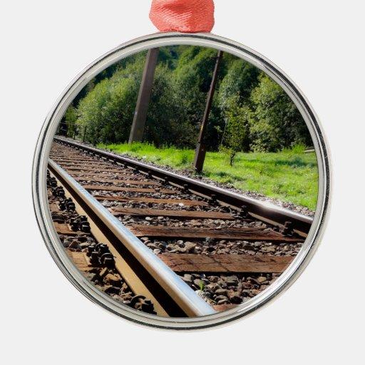 pista de ferrocarril ornato