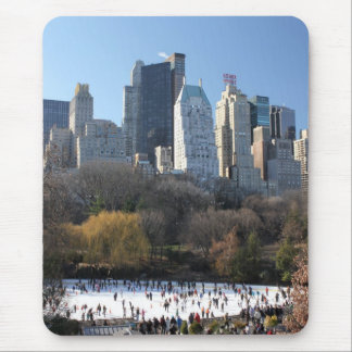 Pista de hielo del Central Park Mousepad
