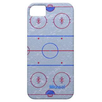 Pista de hielo del hockey iPhone 5 Case-Mate cobertura