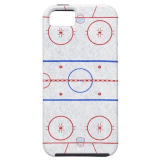Pista de hockey sobre hielo iPhone 5 carcasa