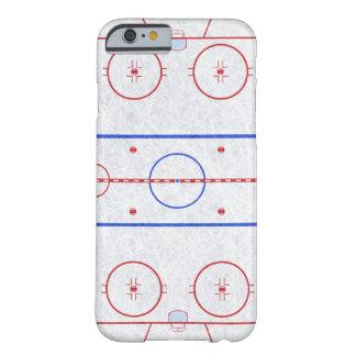 Pista de hockey sobre hielo funda de iPhone 6 barely there
