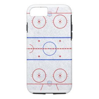 Pista de hockey sobre hielo funda iPhone 7