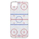 Pista de hockey sobre hielo iPhone 5 protector
