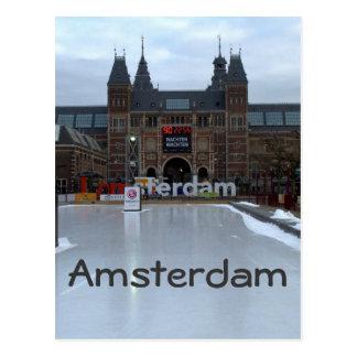 Pista de patinaje, Museumplein, Amsterdam Postal