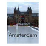 Pista de patinaje, Museumplein, Amsterdam Tarjetas Postales