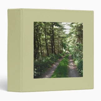 "Pista de tierra a través de árboles carpeta 1 1/2"""