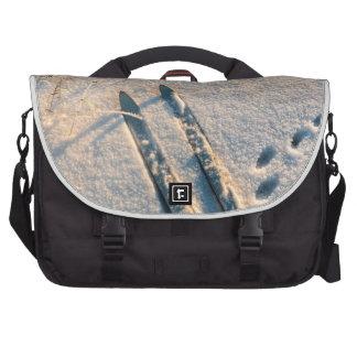 Pista del esquí bolsas de portatil