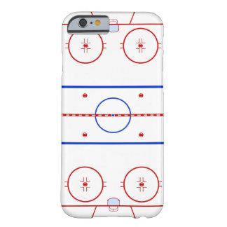 Pista del hockey funda para iPhone 6 barely there