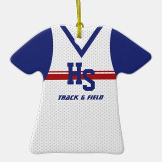 Pista/jersey de funcionamiento de los deportes ornamentos de reyes