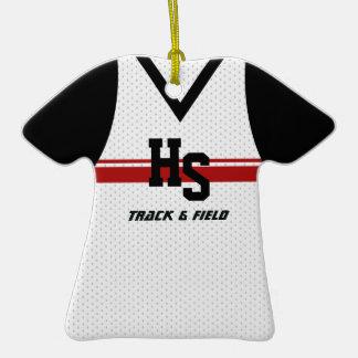 Pista/jersey de funcionamiento de los deportes ornamentos de navidad