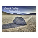 Pista Playa en Death Valley Tarjeta Postal