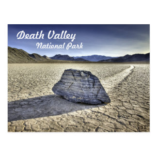 Pista Playa en Death Valley Postal