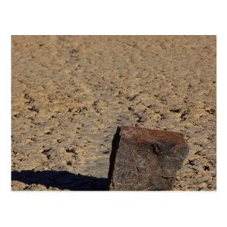 Pista Playa que resbala fango de las piedras Tarjeta Postal