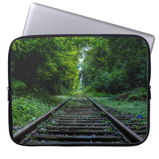 Pista vieja del tren fundas computadoras