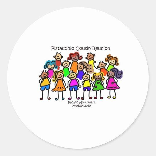 Pistacchio Reunion Sticker