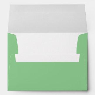 Pistachio Green A7 Envelope