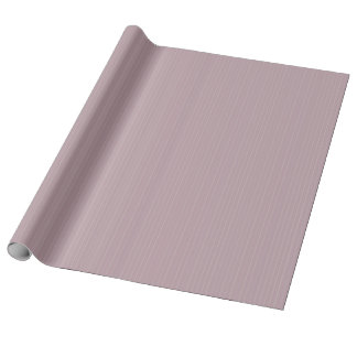 Pistachio Green Chalky Stripes on Mauve Mist Wrapping Paper