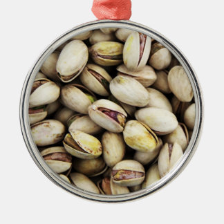 Pistachio Nuts Metal Ornament
