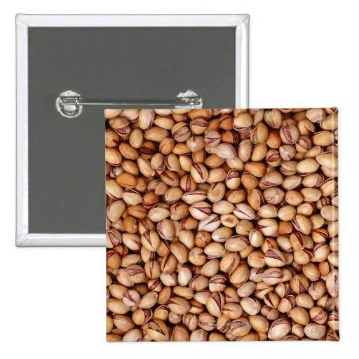 Pistachio Nuts Pinback Button