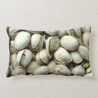 Pistachio nuts throw pillow
