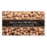 Pistachio Producer / Farmer Photo Business Card