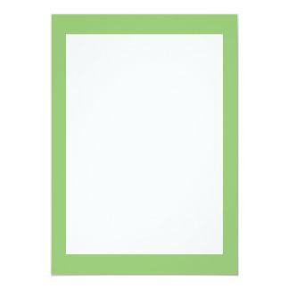 Pistachio Solid Color Card