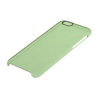 Pistachio Solid Color Uncommon Clearly™ Deflector iPhone 6 Case