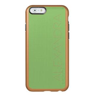 Pistachio Solid Color Incipio Feather® Shine iPhone 6 Case