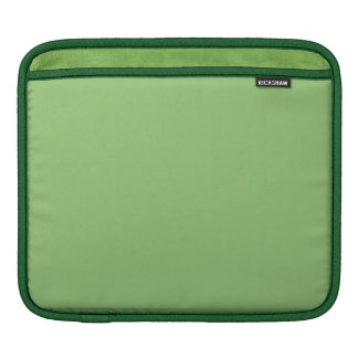 Pistachio Solid Color Sleeve For iPads