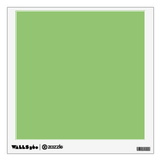 Pistachio Solid Color Wall Stickers