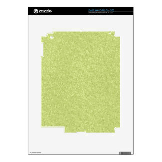 Pistachio Speckled Paper TEXTURE TEMPLATE BACKGROU Decal For iPad 2