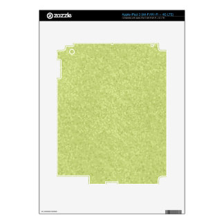 Pistachio Speckled Paper TEXTURE TEMPLATE BACKGROU Decals For iPad 3