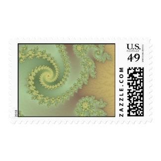 Pistachio Tongues Postage Stamp