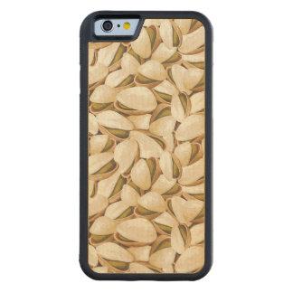 Pistachios Carved Maple iPhone 6 Bumper Case