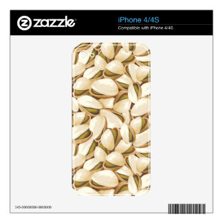 Pistachios Decals For The iPhone 4
