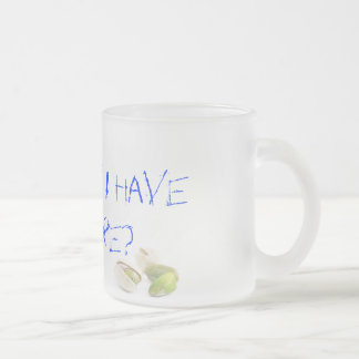 Pistachio's to go! mug