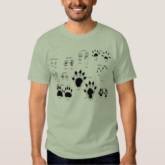 Pistas animales remera