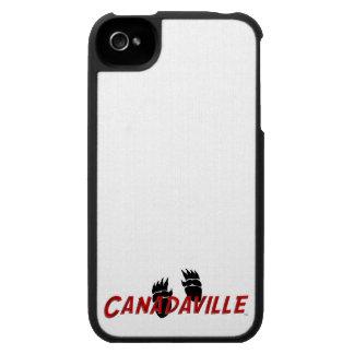 Pistas de Canadaville iPhone 4 Carcasa