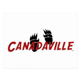 Pistas de Canadaville Tarjeta Postal