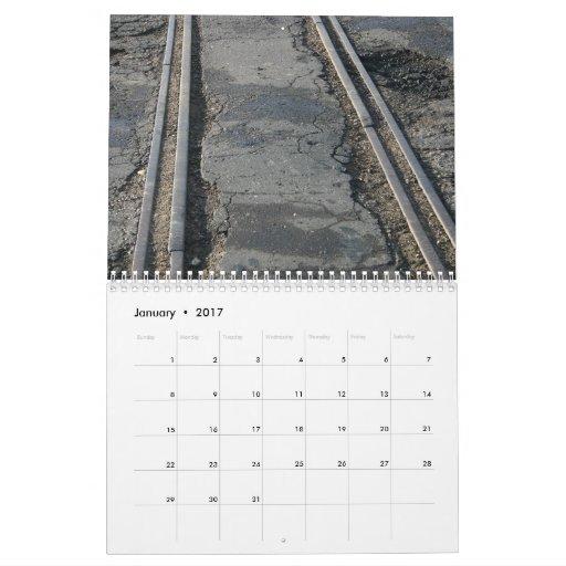 Pistas de ferrocarril calendario