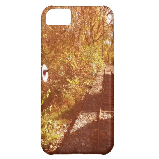 Pistas de ferrocarril funda para iPhone 5C