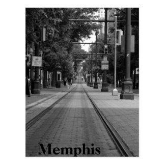 Pistas de la carretilla de Memphis Postales