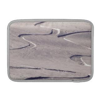 Pistas del esquí funda para macbook air