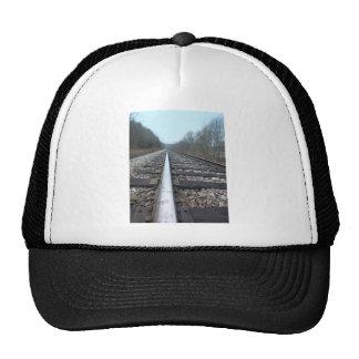 Pistas del tren gorros bordados