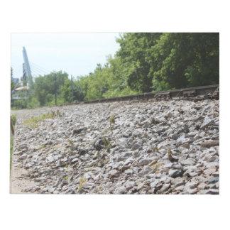 Pistas del tren, Milwaukee, WI Blocs De Notas