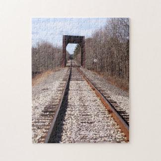 Pistas del tren puzzle