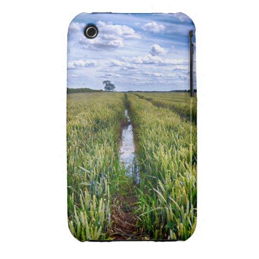 Pistas inundadas del tractor Case-Mate iPhone 3 cobertura
