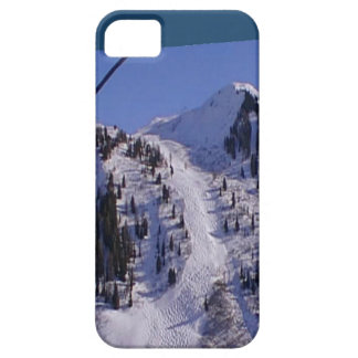 Piste on the summit of  Mt Blanc range iPhone SE/5/5s Case